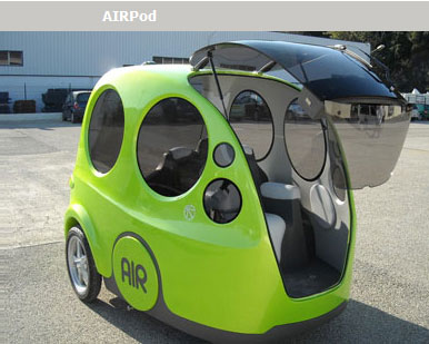 Air Pod by MDI - compressed air vehicle