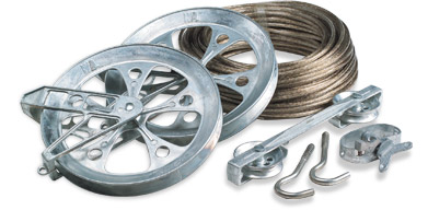 metal pulley kit