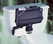 Pressure assist toilet