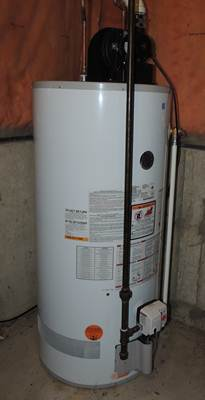 flush water heater